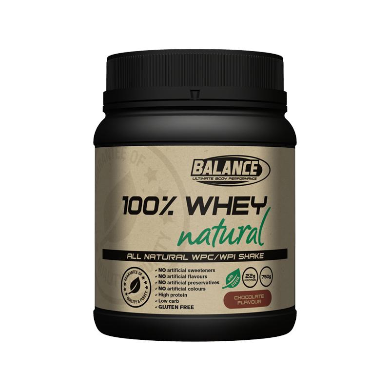 Balance 100%天然纯乳清蛋白粉 巧克力味 750g
