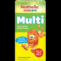 Healtheries 贺寿利 儿童综合维生素及矿物质咀嚼片 60片