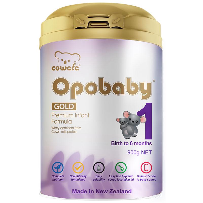 咔哇熊 Cowala 超级金装婴儿奶粉 1段*6罐 适合0-6个月宝宝