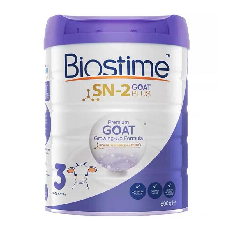 Biostime 合生元羊奶粉3段 800g*3罐 (适合1-3岁宝宝)