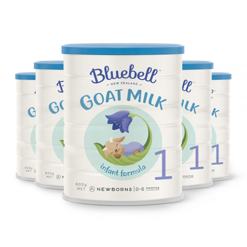 Bluebell 婴幼儿配方羊奶粉1段 800g*6罐  适合0-6个月宝宝