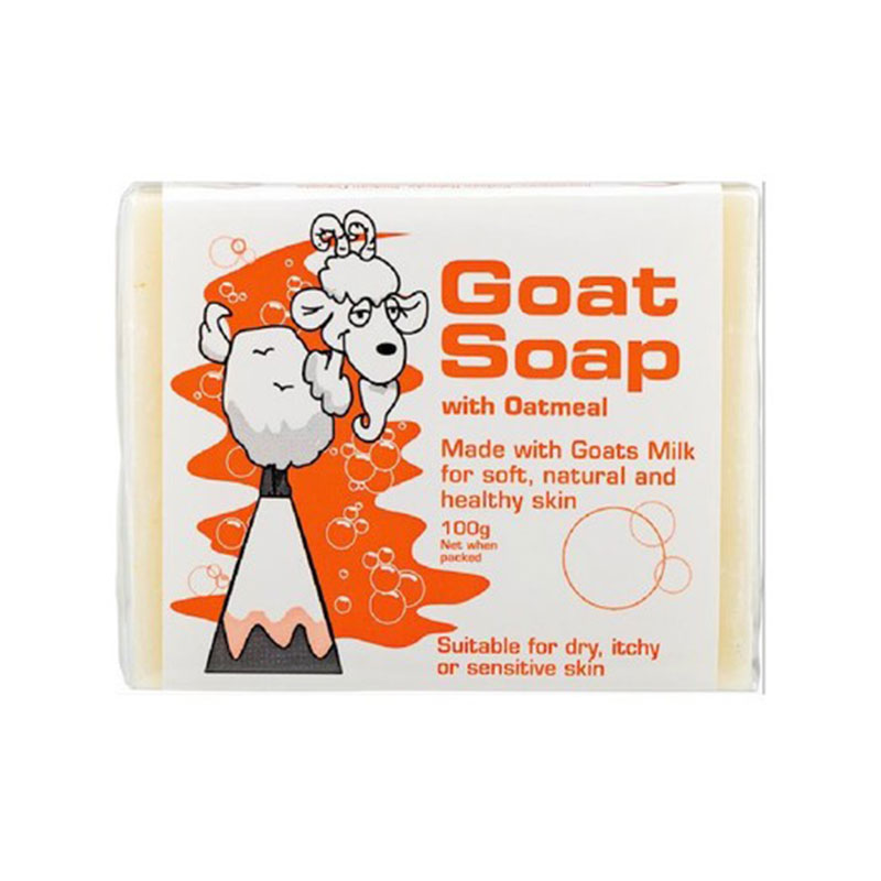 Goat Milk 纯天然羊奶皂(燕麦味)100g