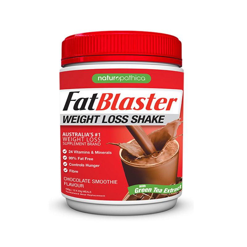 FAT BLASTER减肥代餐奶昔 巧克力慕斯味 430g