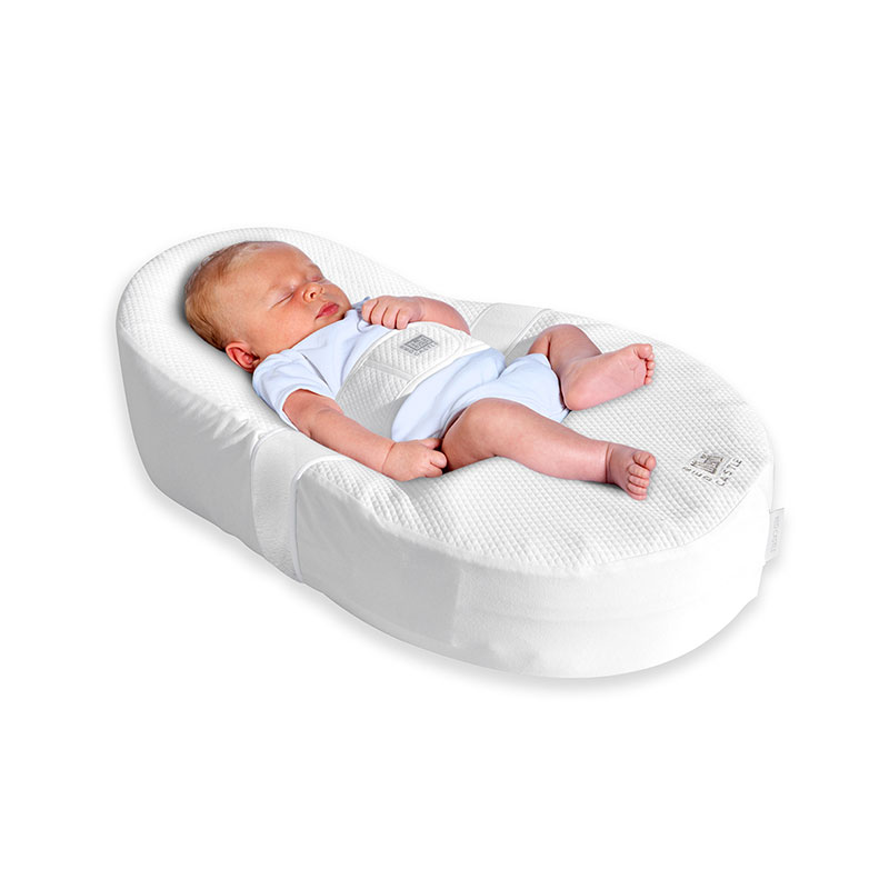 Red Castle COCOONABABY 法国鹅蛋型防逆流新生儿床垫婴儿床睡垫