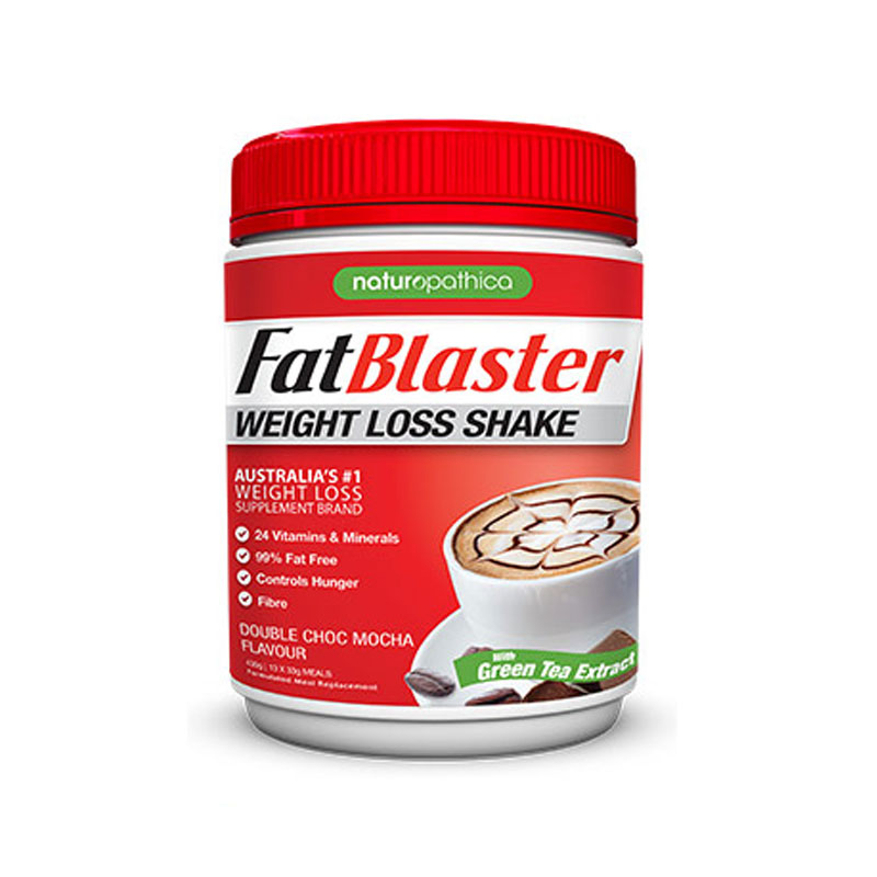 FAT BLASTER减肥代餐奶昔 巧克力摩卡味 430g