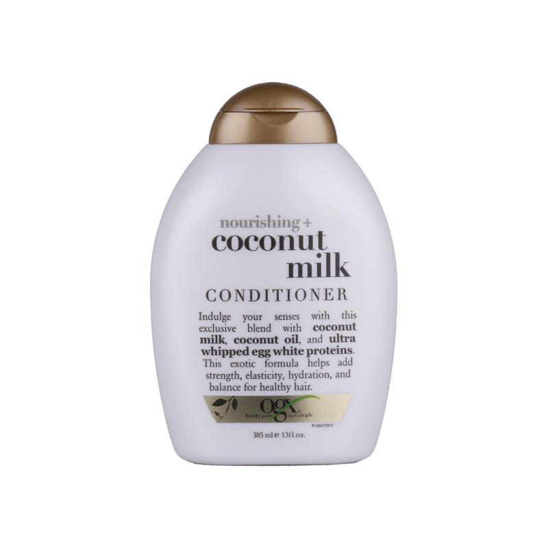 OGX 椰奶滋养护发素 385ml 抚平干枯毛躁修复受损
