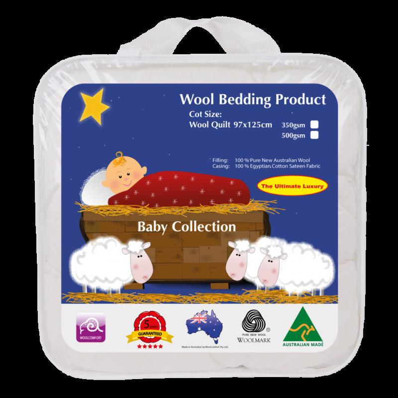 crown 婴儿羊毛垫 350gsm 69*130cm