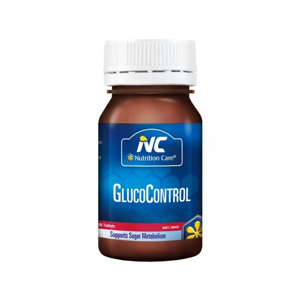 Nutrition Care 血糖平衡控糖片 90粒 三价铬片协助胰岛素调节