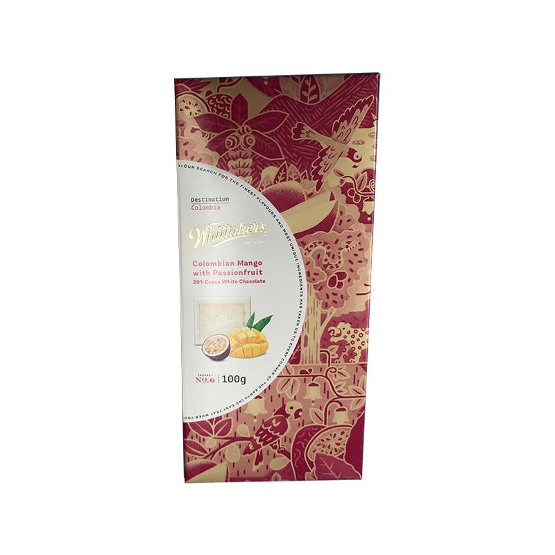 Whittakers 惠特克 哥伦比亚芒果配西番莲味 28%白巧克力 100g