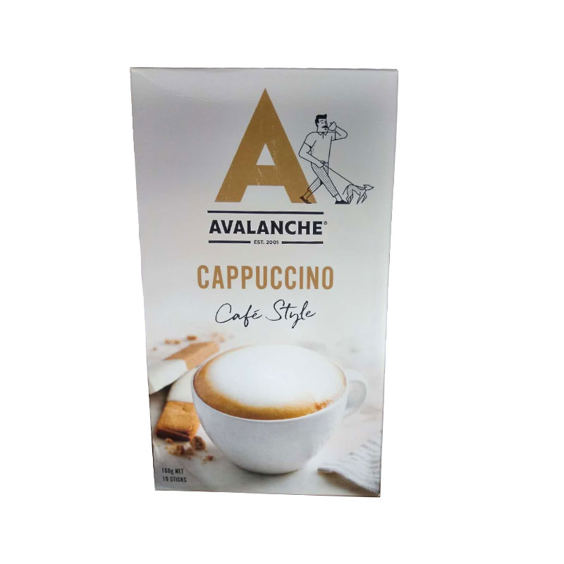 Avalanche 天然有机卡布奇诺 速溶咖啡10小包 140g
