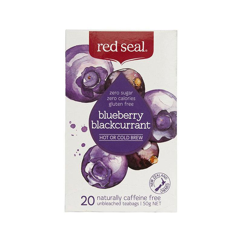 RED SEAL 红印 天然有机蓝莓黑加仑茶 20袋 无糖分卡路里