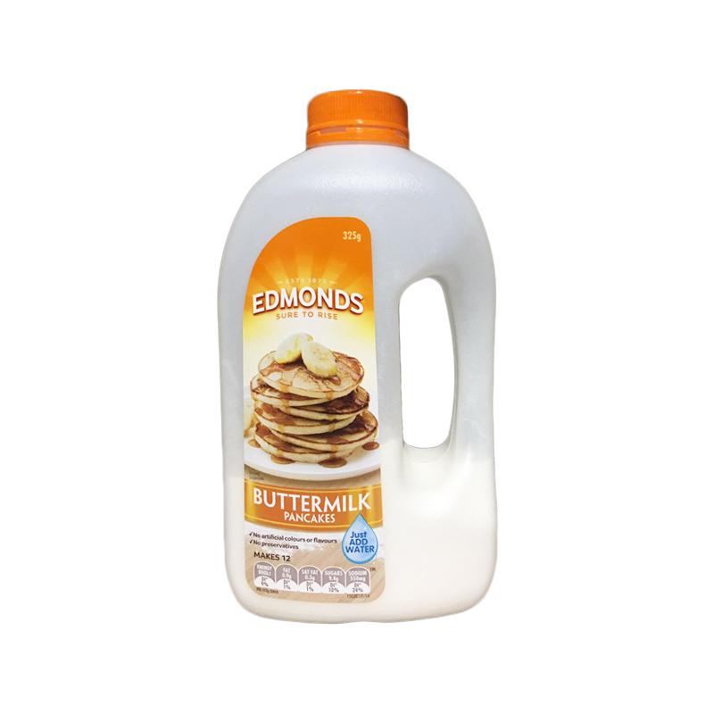 Edmonds 天然有机松饼粉黄油牛奶味 350g 摇摇瓶华夫饼粉