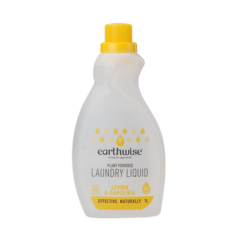 Earthwise 天然植物基底浓缩洗衣液1L 柠檬栀子花