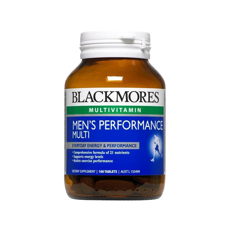 Blackmores 澳佳宝 男性活力复合维生素 100粒