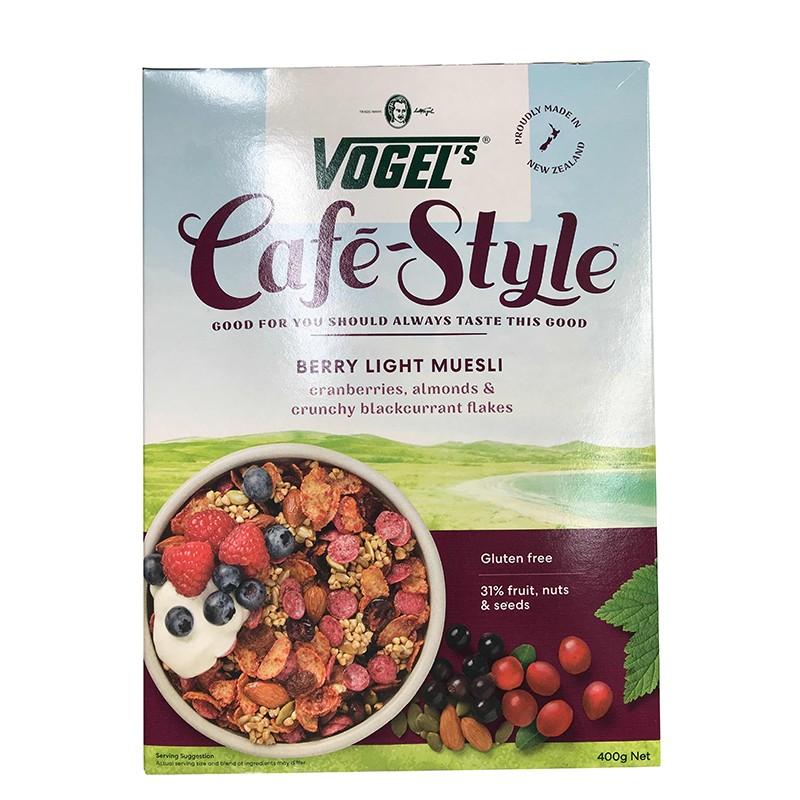 Vogel's 沃格尔 经典风格 天然有机梅子香脆麦片 400g*2盒装