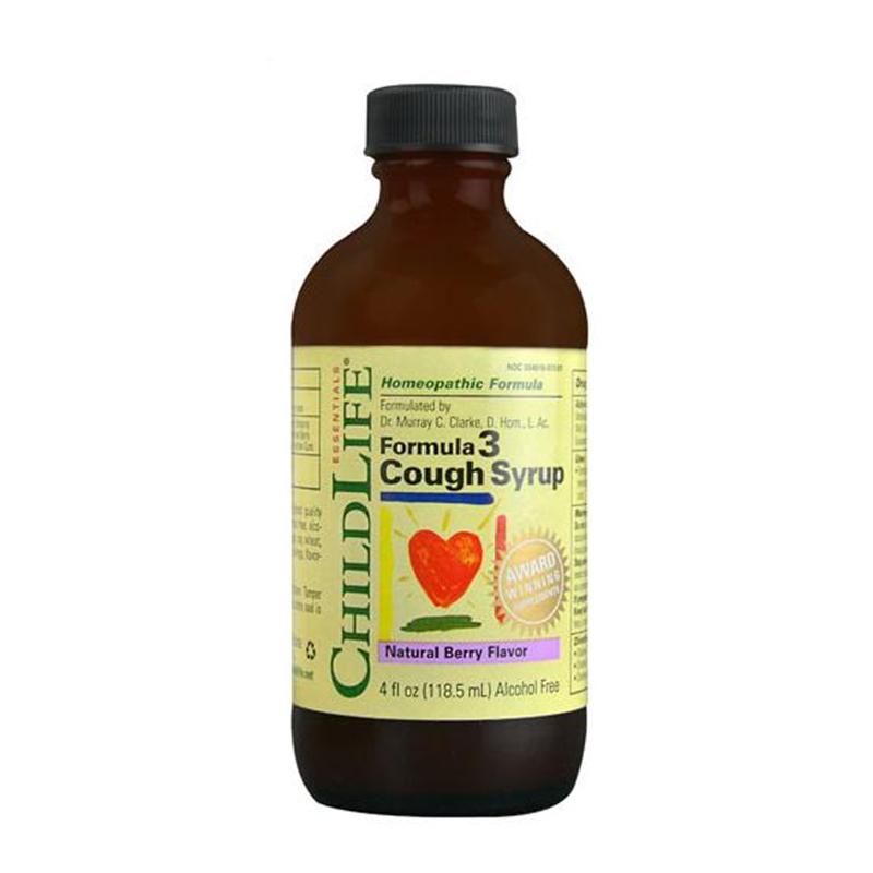 ChildLife 3重植物缓解咳嗽糖浆 梅子味 118.5ml