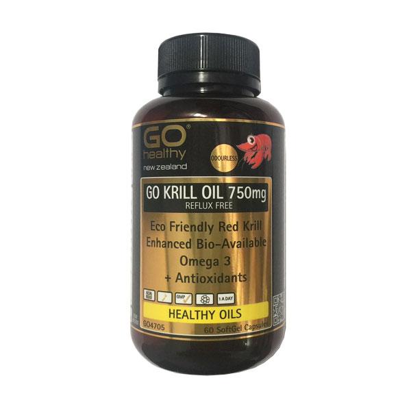 Go Healthy 高之源 磷虾油胶囊 750mg 60粒