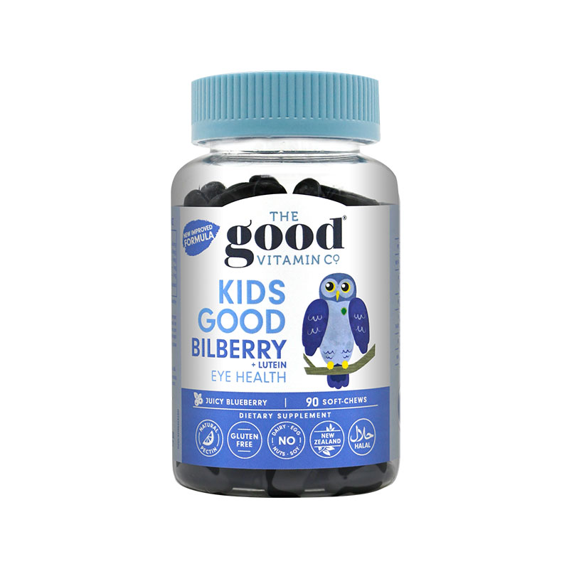 The Good Vitamin Co儿童越橘护眼咀嚼软糖 90粒