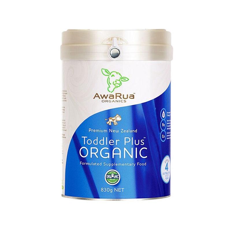 AwaRua 小绿牛阿瓦鲁有机儿童奶粉 830g