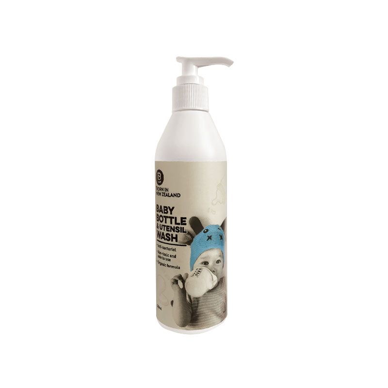 BORN IN NEW ZEALAND 婴儿奶瓶和餐具清洁剂 250ml