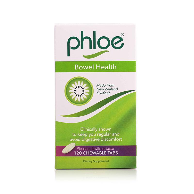 Phloe 腹乐 奇异果肠道健康咀嚼片 120粒
