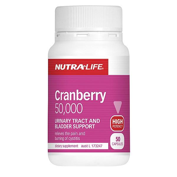 Nutralife 紐樂 蔓越莓膠囊 50粒
