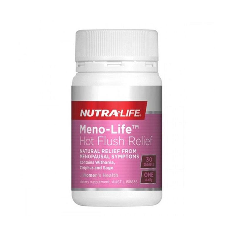 Nutralife 紐樂 女性更年期潮熱緩解膠囊期 30粒
