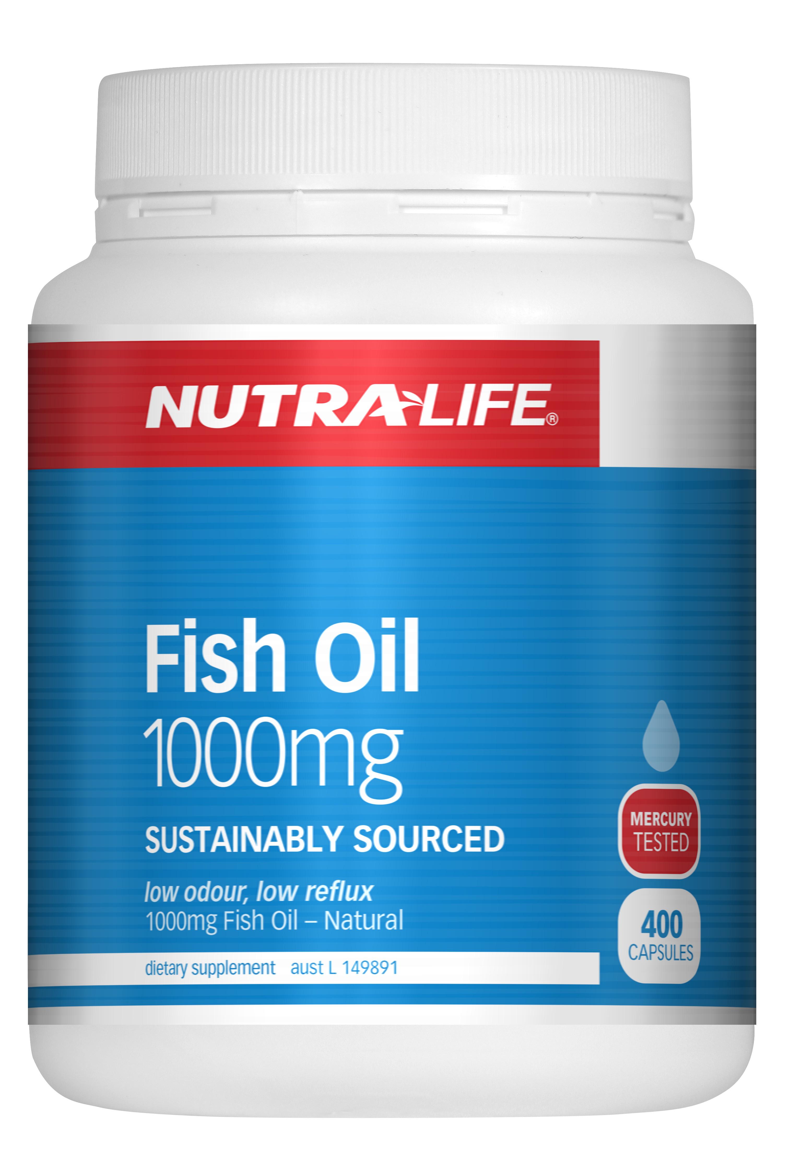 Nutralife 紐樂 深海魚油1000mg 400粒