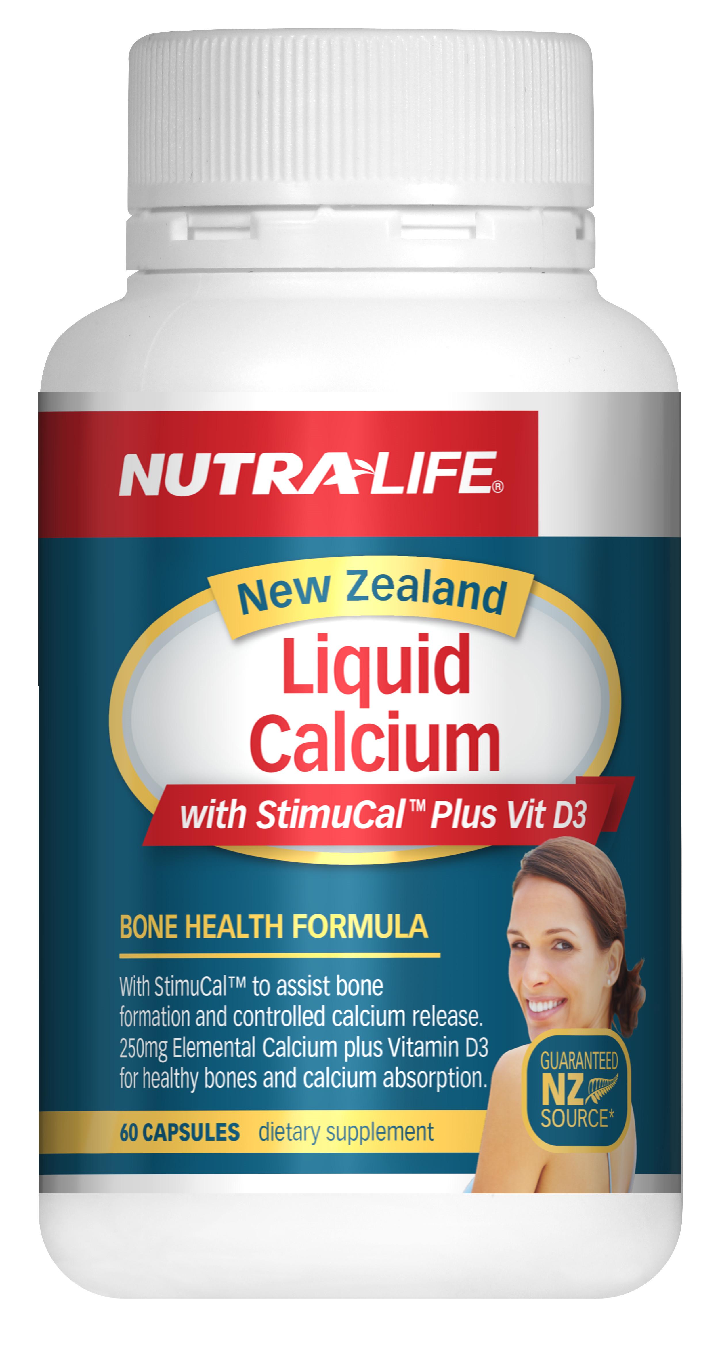 Nutralife 紐樂 液體鈣 60粒