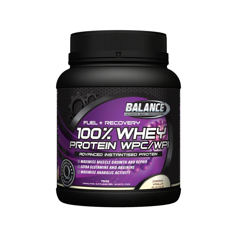 Balance 100%純乳清蛋白粉 香草味 750g