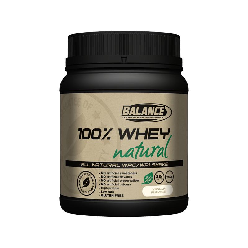 Balance 100%天然純乳清蛋白粉 香草味 750g