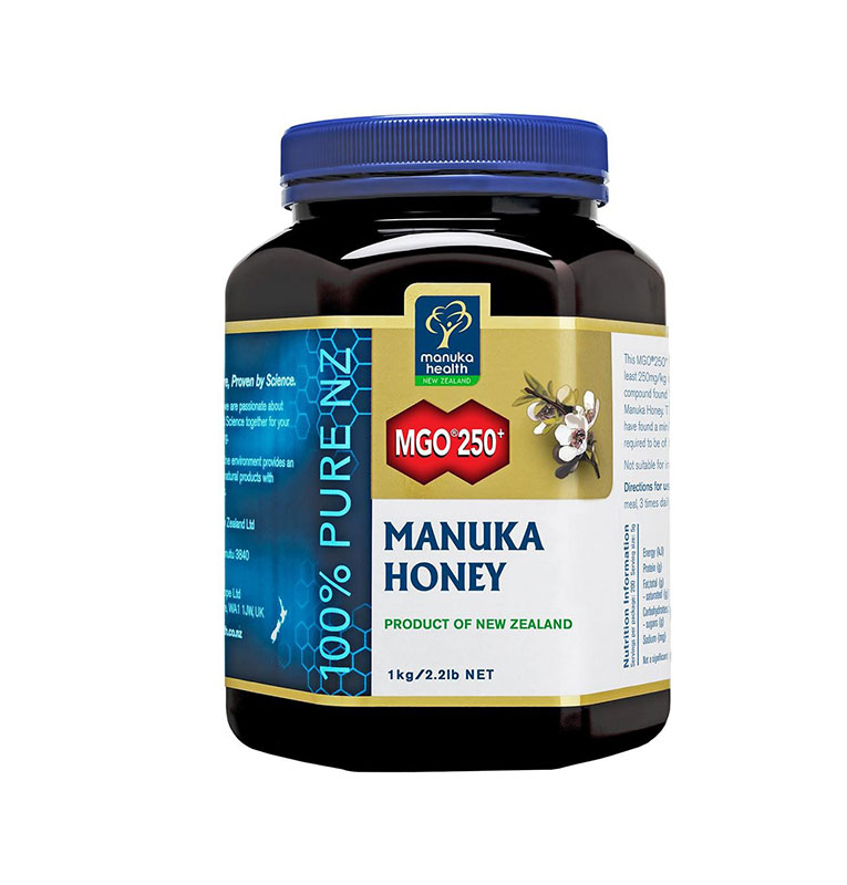 Manuka Health 蜜紐康 麥盧卡活性蜂蜜MGO250+ 1000g 賈靜雯代言