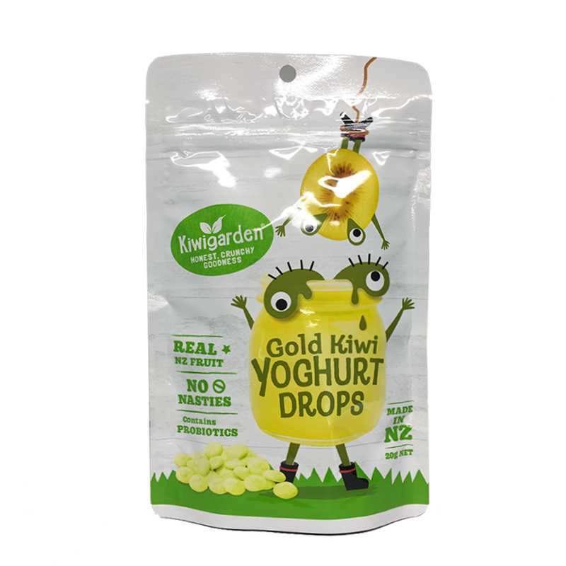 Kiwi Garden 袋裝酸奶溶豆寶寶零食 無添加健康輔食 黃金奇異果味 20g