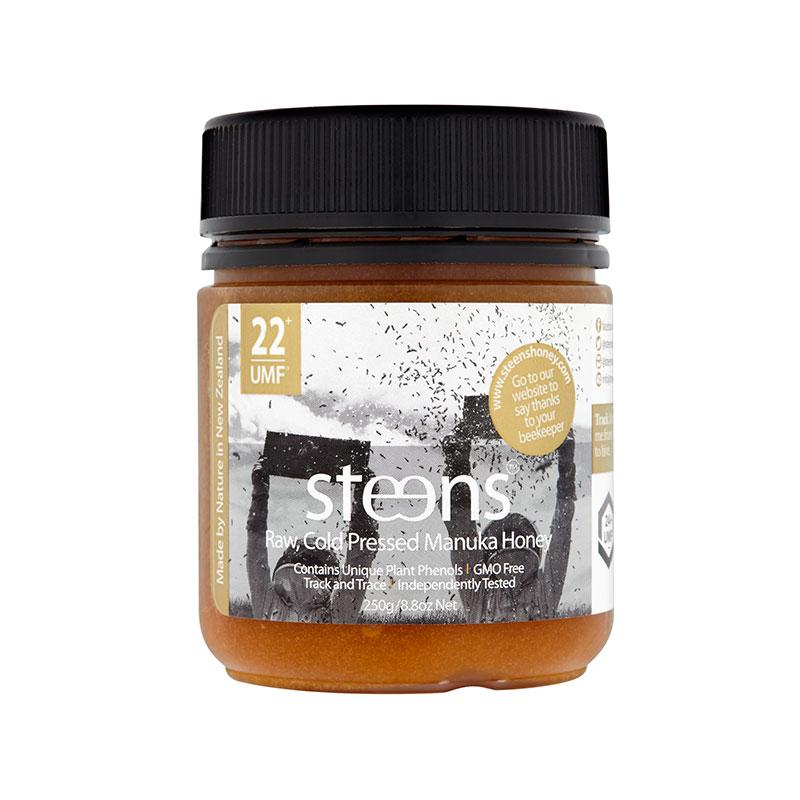 Steens 蜜思蒂  新西兰天然麦卢卡野生蜂蜜 UMF22+ 250g