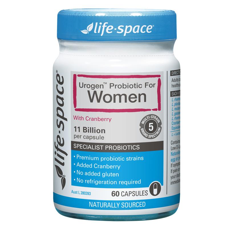 Life space 女性蔓越莓益生菌膠囊 60粒