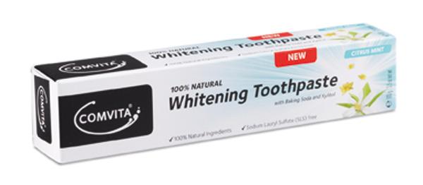 Comvita 康維他 天然有機 美白牙膏 100g