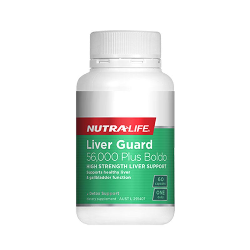 Nutralife 紐樂 護肝寶56,000mg 60粒
