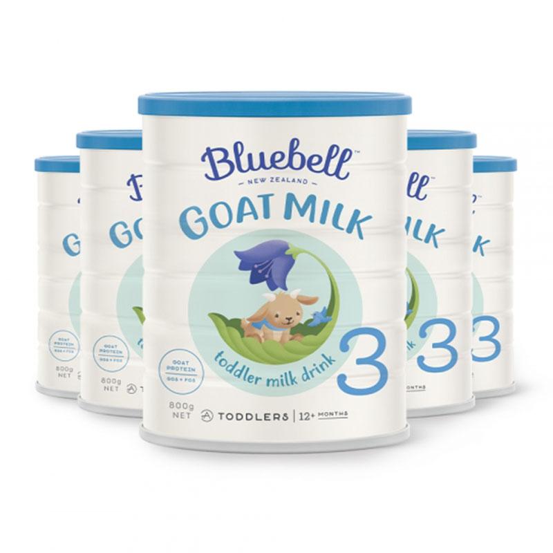 Bluebell 嬰幼兒配方羊奶粉3段 800g*6罐  適合12個月以上寶寶