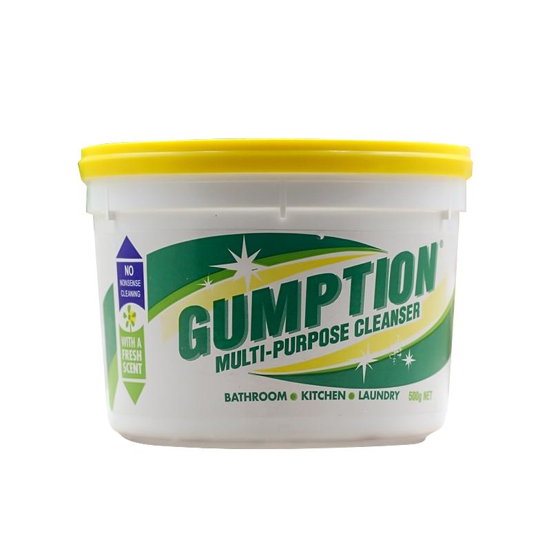 Gumption萬能清潔膏清潔劑 500g 抗菌性強效萬能清潔膏
