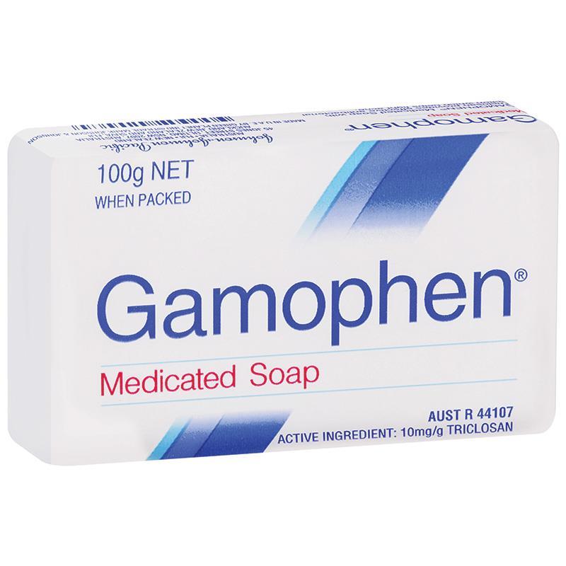 Gamophen 药用抗菌皂 100g 祛痘去鸡皮去油