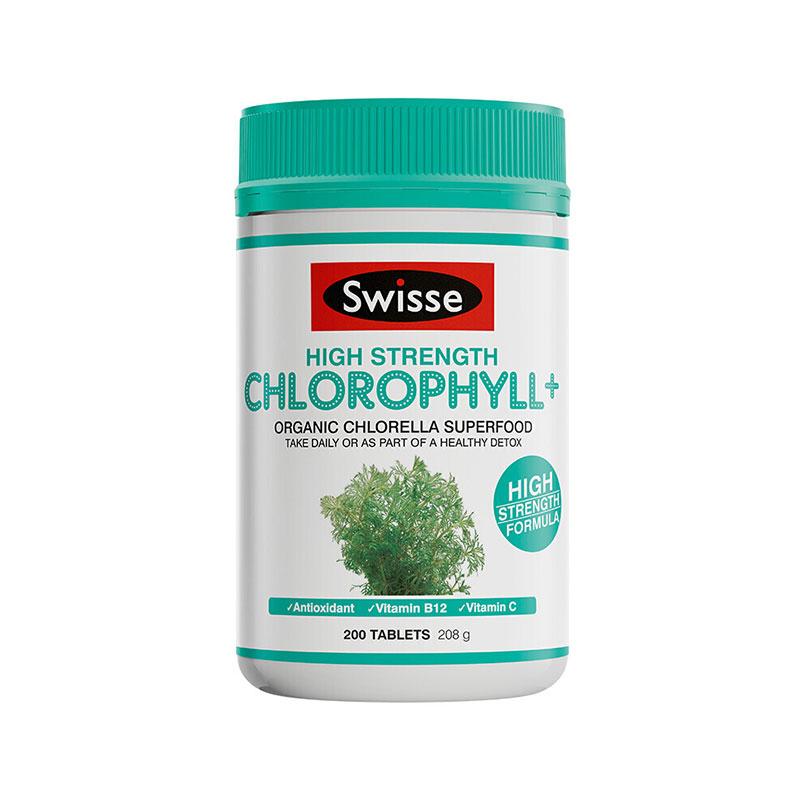 Swisse 葉綠素片 200片