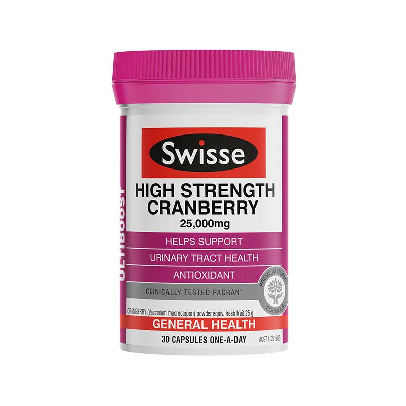 Swisse 高濃度蔓越莓膠囊 30粒 純天然抗癌防病