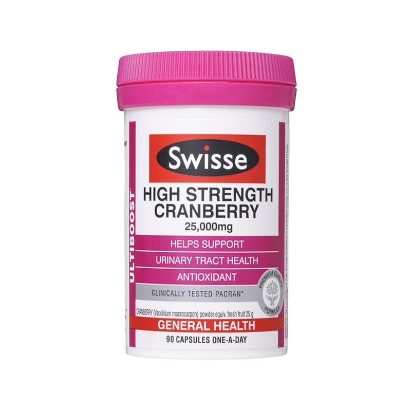 Swisse 高濃度蔓越莓膠囊 90粒