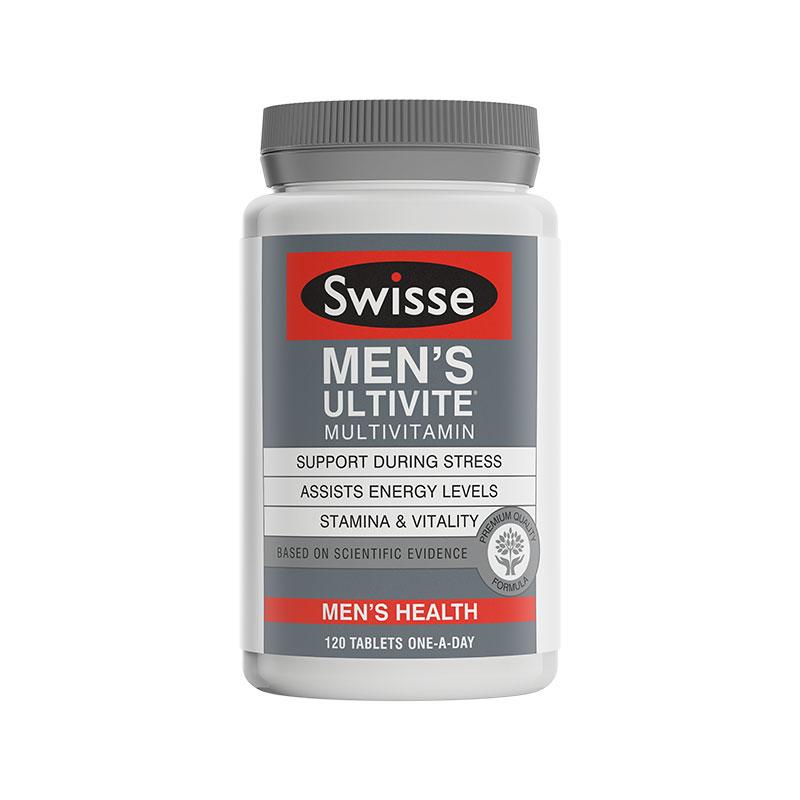 Swisse 男性復合維生素 120粒