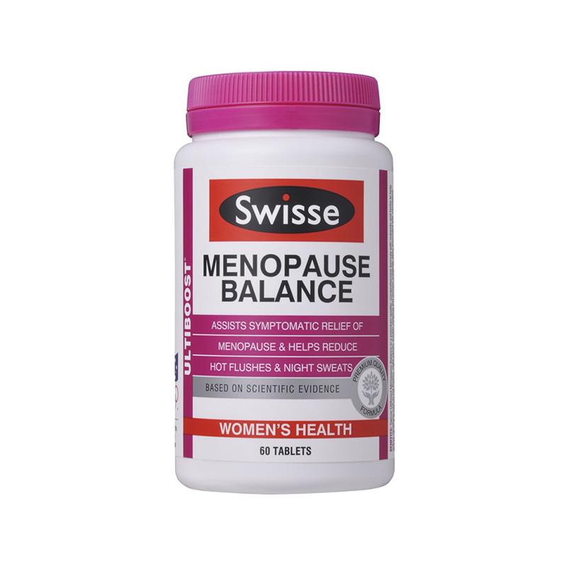 Swisse 更年期平衡營養素 60粒 改善女性更年期癥狀