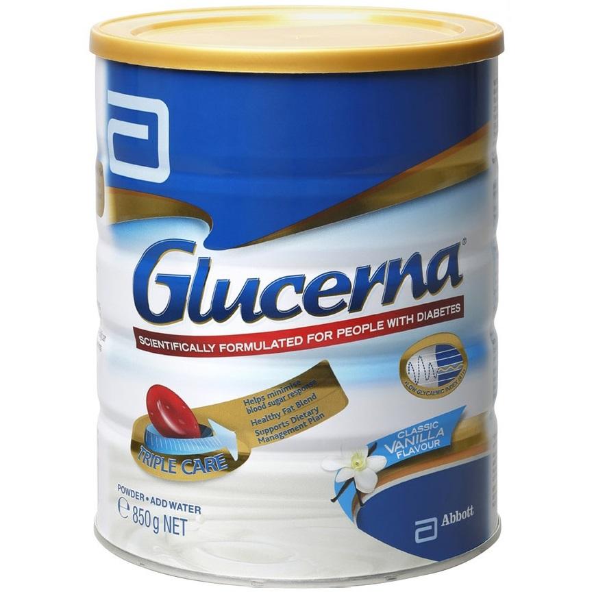 雅培 GLUCERNA 糖尿病人專用奶粉 850g