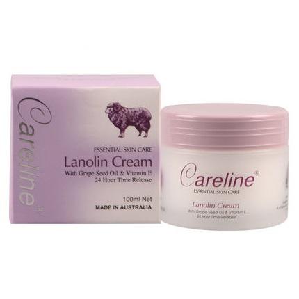 Careline 柯藍 綿羊油 含葡萄籽VE 長效保濕100ml