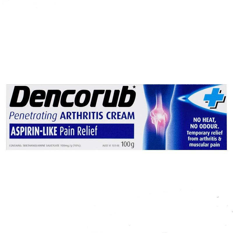 Dencorub 關節按摩膏 100g 舒緩止痛