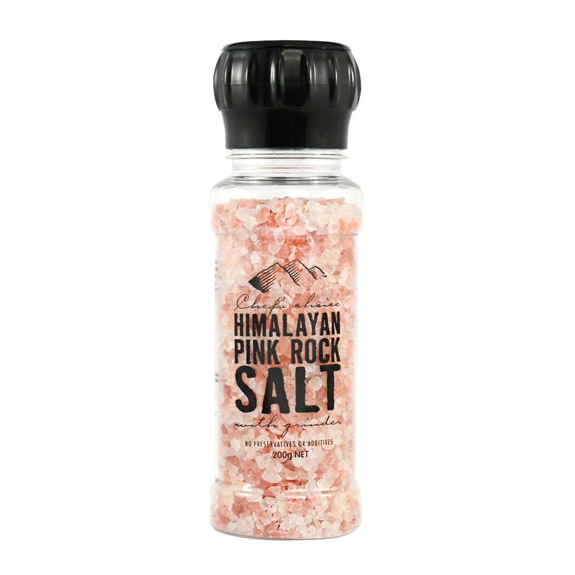HIMALAYAN 喜馬拉雅 粉鹽(帶研磨器) 200G 天然有機礦物鹽