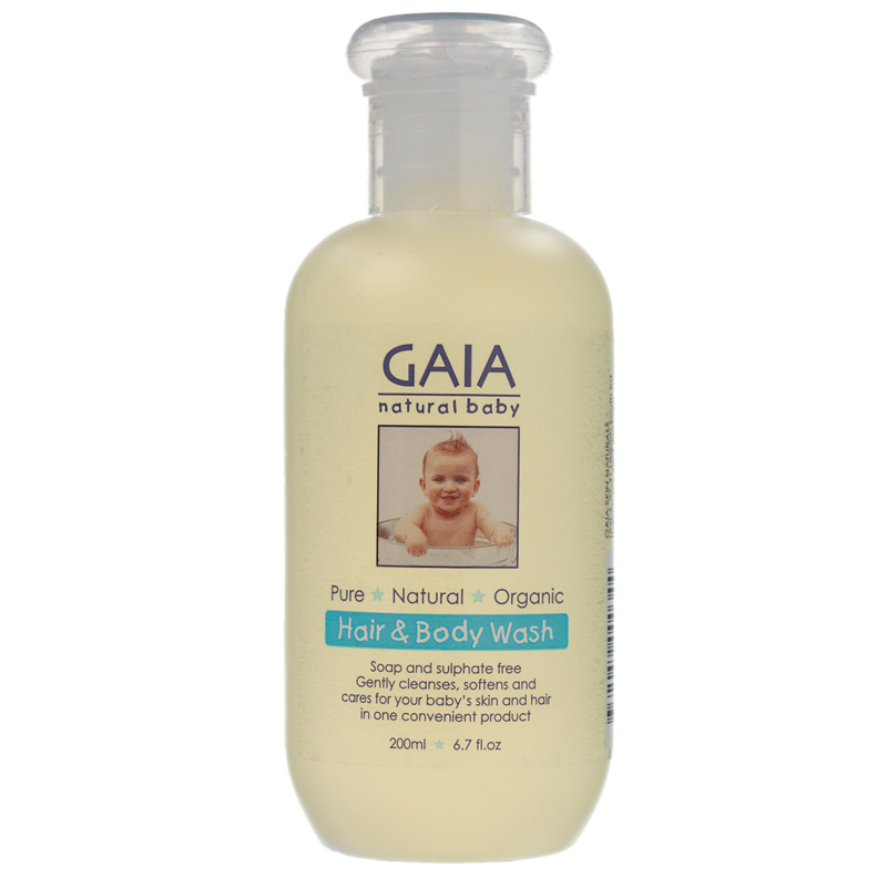 Gaia 嬰兒有機洗發沐浴露二合一 200ml